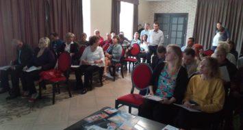 """14 травня 2019 року МРІ провели в м. Берегове семінар """"Створення, аудит та робота партійної структури"""""""