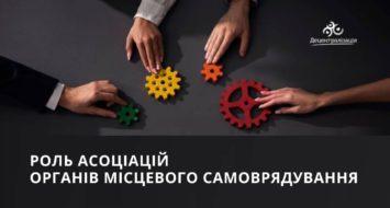 Роль асоціацій органів місцевого самоврядування – європейський досвід